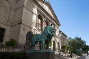 Michigan_Ave_North_Lion 2