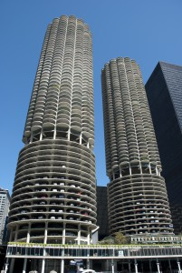 Marina City. Image courtesy of Chicago Architecture Foundation.